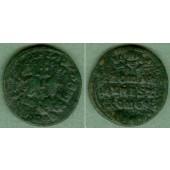 CONSTANTIN VII. + ROMANUS I.  Follis  s-ss  selten  [920-944]