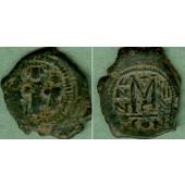 HERACLIUS  Follis  s-ss/ss  [610-641]