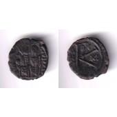 JUSTIN II.  Halbfollis  ss  VAR  selten  [575-576]