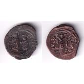 HERACLIUS  Follis  ss  selten  [610-641]