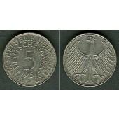 Deutschland BRD 5 DM 1961 D  ss+