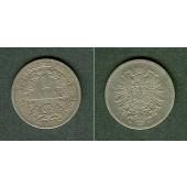 Deutsches Reich 1 Mark 1873 F (J.9)  s  selten!