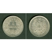 Deutsches Reich 1 Mark 1881 J (J.9)  f.vz