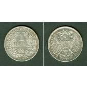 Deutsches Reich 1 Mark 1893 D  vz-st