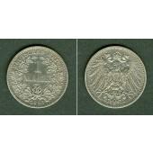 Deutsches Reich 1 Mark 1893 F  vz  selten