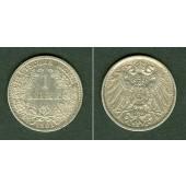 Deutsches Reich 1 Mark 1901 J  ss-vz