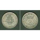 Deutsches Reich 1 Mark 1904 E  vz-stgl.