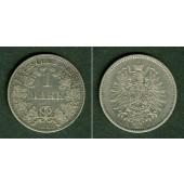 Deutsches Reich 1 Mark 1885 A (J.9)  ss