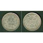 Deutsches Reich 1 Mark 1899 D (J.17)  f.vz