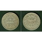 Deutsches Reich 1 Mark 1896 F (J.17)  ss