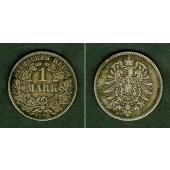 Deutsches Reich 1 Mark 1875 H (J.9)  f.ss