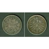 Deutsches Reich 1 Mark 1875 J (J.9)  ss