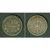 Deutsches Reich 1 Mark 1880 J (J.9)  s+  selten