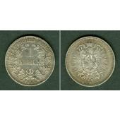 Deutsches Reich 1 Mark 1881 F (J.9)  ss-vz