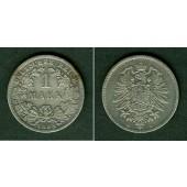 Deutsches Reich 1 Mark 1883 D (J.9)  s-ss  selten