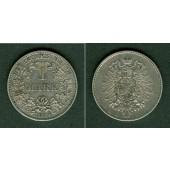 Deutsches Reich 1 Mark 1874 G (J.9)  ss-vz