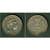 Preussen 2 Mark 1906 A  ss+