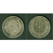 Preussen 2 Mark 1876 A  s