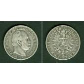 Preussen 2 Mark 1883 A  s/s+  selten!