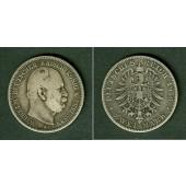 Preussen 2 Mark 1876 A  s+