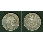 Preussen 2 Mark 1876 B  s