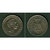 Preussen 2 Mark 1908 A  f.vz