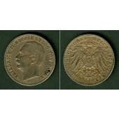 Baden 3 Mark 1909 G  ss-vz