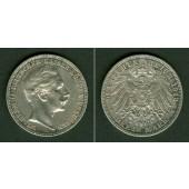 Preussen 3 Mark 1912 A  f.vz