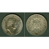 Sachsen 3 Mark 1911 E  ss-vz