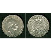 Sachsen 3 Mark 1911 E  vz-st