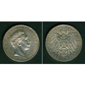 Preussen 3 Mark 1908 A  f.vz