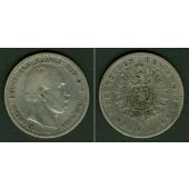 Preussen 5 Mark 1876 B  ss-