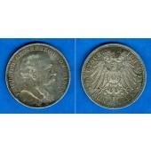 Baden 5 Mark 1903 G  ss+