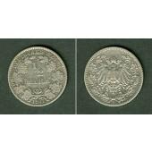 Deutsches Reich 1/2 Mark 1907 E  ss  selten
