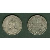 Deutsch Ostafrika 1 Rupie 1906 J  ss+