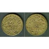 Deutsch Ostafrika 20 Heller 1916 T  ss