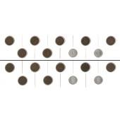 Lot: DEUTSCHES REICH  9x 1 Pfennig  [1899-1917]