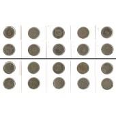 Lot: DEUTSCHES REICH  10x 5 Pfennig  [1890-1913]