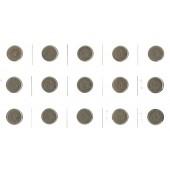 Lot: DEUTSCHES REICH  15x 5 Pfennig  [1875-1915]