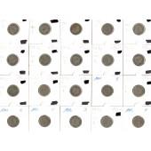 Lot: DEUTSCHES REICH  20x 5 Pfennig  [1876-1913]
