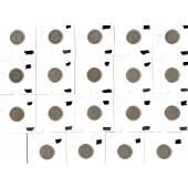 Lot: DEUTSCHES REICH  19x 5 Pfennig  [1875-1914]