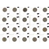 Lot: DEUTSCHES REICH  20x 10 Pfennig  [1875-1915]