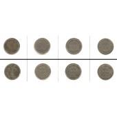 Lot: DEUTSCHES REICH  4x 10 Pfennig  [1893-1909]