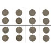 Lot: DEUTSCHES REICH  8x 10 Pfennig  [1891-1908]