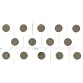 Lot: DEUTSCHES REICH  14x 10 Pfennig  [1874-1915]