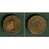 DEUTSCHES REICH  1 Pfennig 1916 E  ss+