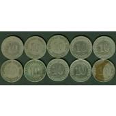 Lot: DEUTSCHES REICH  10x 10 Pfennig  [1876-1909]