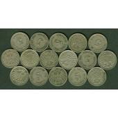 Lot: DEUTSCHES REICH  16x 5 Pfennig  [1900-1914]