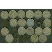 Lot: DEUTSCHES REICH  23x 5 Pfennig  [1875-1921]