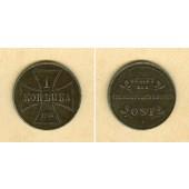 DEUTSCHES REICH  1 Kopeke 1916 J  Oberbefehlshaber Ost  ss-vz